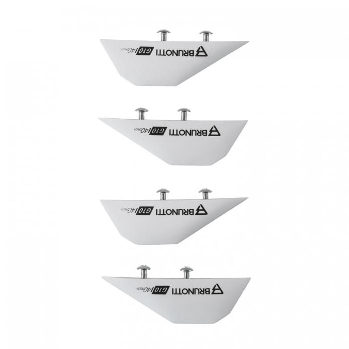 Quillas Brunotti G10 Twintip Fins